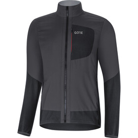 GORE WEAR C5 Windstopper Insulated Jacket Herre terra grey/black